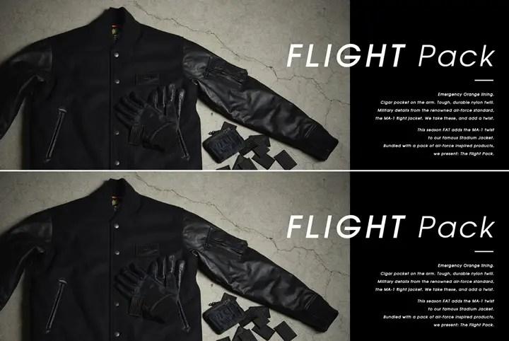 """FAT """"FLIGHT Pack""""が展開中! (エフエーティー フライト パック)"""