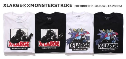 モンスト × エクストララージがコラボ!記念TEE & コラボBOOKが発売! (MONSTER STRIKE X-large)
