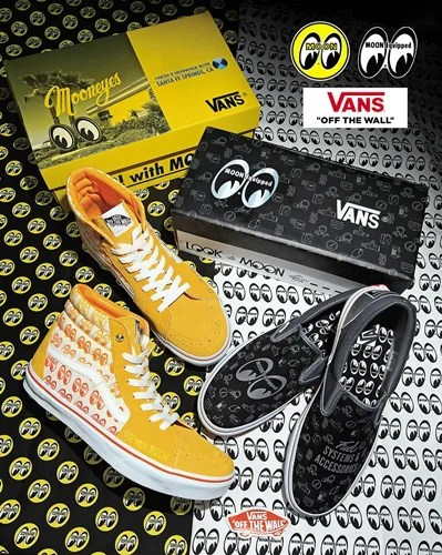 "12/4発売!MOONEYES × VANS ""YOKOHAMA HOT ROD CUSTOM SHOW 2016"" (ムーンアイズ バンズ)"