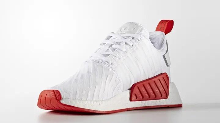 """adidas Originals NMD_R2 PRIMEKINIT {PK} """"Black/Red"""" """"White/Red"""" (アディダス オリジナルス エヌ エム ディー ランナー プライムニット """"ブラック/レッド"""" """"ホワイト/レッド"""") [BA7252,3]"""