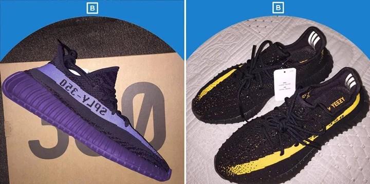 """【リーク】adidas Originals YEEZY 350 BOOST V2 """"Purple Rain"""" """"Black/Yellow"""" (アディダス オリジナルス イージー 350 ブースト V2 """"パープル レイン"""" """"ブラック/イエロー"""")"""