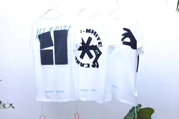 """OFF-WHITE C/O VIRGIL ABLOH 2017 S/S """"MIRROR MIRROR"""" 2nd Deliveryが12/15から展開! (オフホワイト 2017年 春夏 コレクション)"""