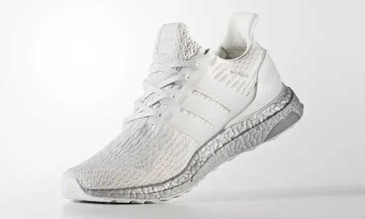 """アディダス ウルトラ ブースト 3.0 """"ホワイト/シルバー"""" (adidas ULTRA BOOST 3.0 """"White/Silver"""") [BA8922]"""