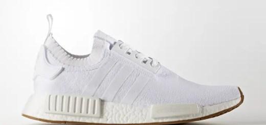 "adidas Originals NMD_R1 PRIMEKNIT {PK} ""white/Gum"" (アディダス オリジナルス エヌ エム ディー プライムニット ""ホワイト/ガム"") [BY1888]"