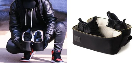 防弾チョッキなどにも使われている強度のあるナイロン/防水を兼ね備えた旅先や出張などにも活躍する「SNEAKER BOX BAG」が発売! (スニーカー ボックス バッグ)