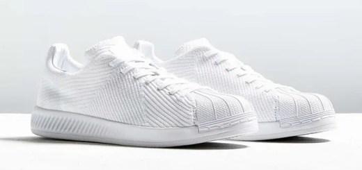 """adidas Originals SUPERSTAR BOUNCE PRIMIKNIT """"Triple White"""" (アディダス オリジナルス スーパースター バウンス プライムニット """"トリプル ホワイト"""")"""