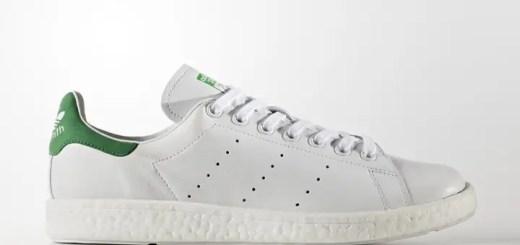 """アディダス オリジナルス スタンスミス ブースト """"ホワイト/グリーン"""" (adidas Originals STAN SMITH BOOST """"White/Green"""") [BB0008]"""