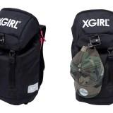 【calif 10周年 WEB限定】小さくなったX-girl × NEW ERA コラボリュックサックが2/17発売!(エックスガール ニューエラ)