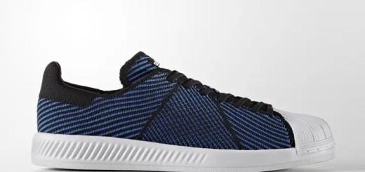 "adidas Originals SUPRESTAR PRIMEKNIT ""Core Black/Blue"" (アディダス オリジナルス スーパースター プライムニット ""コア ブラック ブルー"") [S82242]"