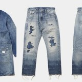 DENIM BY VANQUISH & FRAGMENTから「DENIM COAT」「FIVE YEARS WASH TAPERED DENIM PANTS」が発売! (デニム バイ バンキッシュ フラグメント)