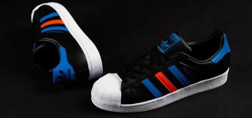 """海外展開!adidas Originals SUPERSTAR """"Black/Blue"""" (アディダス オリジナルス スーパースター """"ブラック/ブルー"""") [BB2245]"""