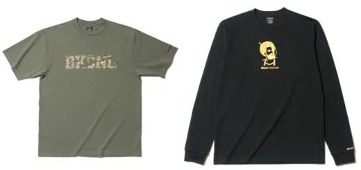 バックチャンネル (Back Channel)からロゴ内にオリジナルテキスタイル「ゴーストライオンカモ」を使用したTEE他が発売!