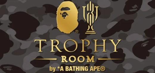 国内3/25発売!A BATHING APE x TROPHY ROOM (ア ベイシング エイプ トロフィールーム)