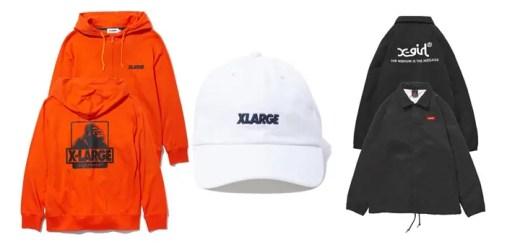 X-large/X-girl コラボ/レギュラー アイテムが3/24から発売! (エクストララージ エックスガール)