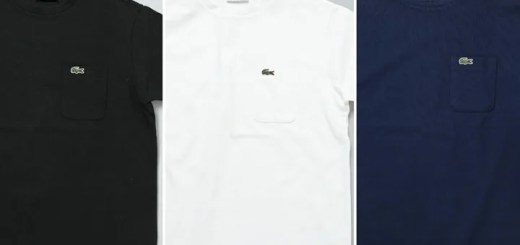 LACOSTE × EDIFICE 別注 ポケット TEE 3カラーが5月上旬発売! (ラコステ エディフィス)
