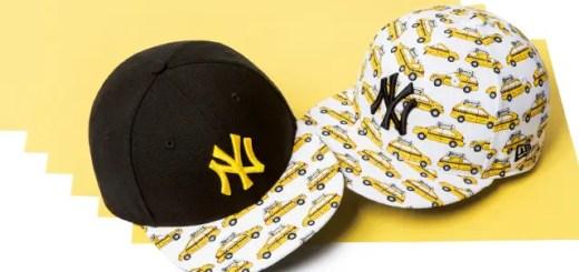 New Eraからニューヨーク市を走るタクシーの呼称である「イエローキャブ」をモチーフにしたシリーズが発売! (ニューエラ)