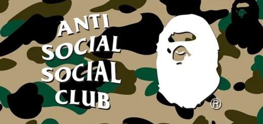 A BATHING APE × Anti Social Social Club コラボが近日展開か? (ア ベイシング エイプ アンチ ソーシャル ソーシャル クラブ)