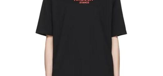 SSENSE限定!AMBUSH BLACK LOGO TEE (アンブッシュ ブラック ロゴ)