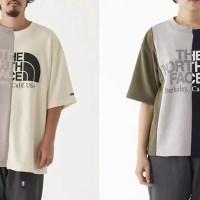 "THE NORTH FACE PURPLE LABEL 2019 S/S ""Asymmetry Logo Tee"" (ザ・ノース・フェイス パープルレーベル 2019年 春夏モデル) [NT3916N]"