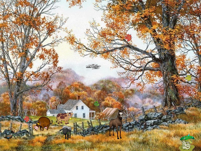 Animated 3d Wallpapers For Windows 7 Free Download Autumn Life Screensaver Nature Screensavers