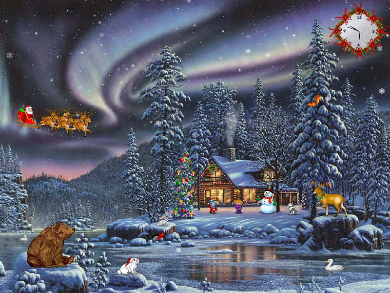 Animated 3d Wallpapers For Windows 7 Free Download Full Version Christmas Delight Free Christmas Screensaver