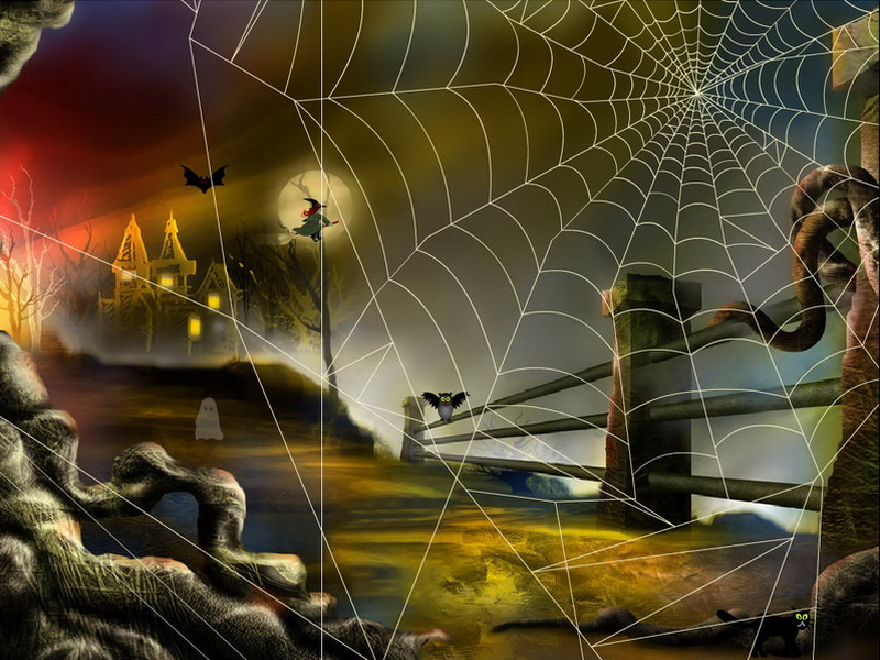 Moving Fall Wallpapers For Windows 10 Halloween Adventure Halloween Screensaver