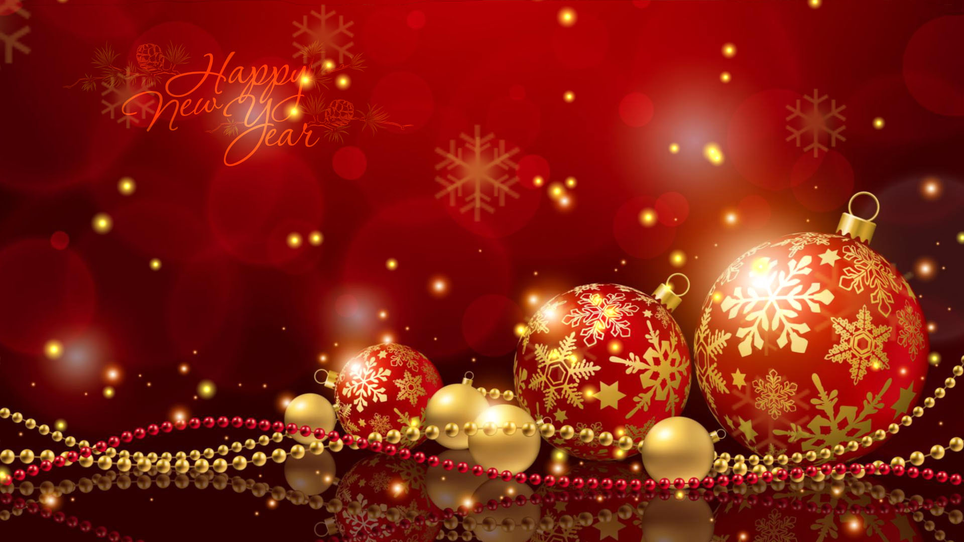 Free 3d Snow Falling Wallpaper New Year Happiness Download New Year Screensaver