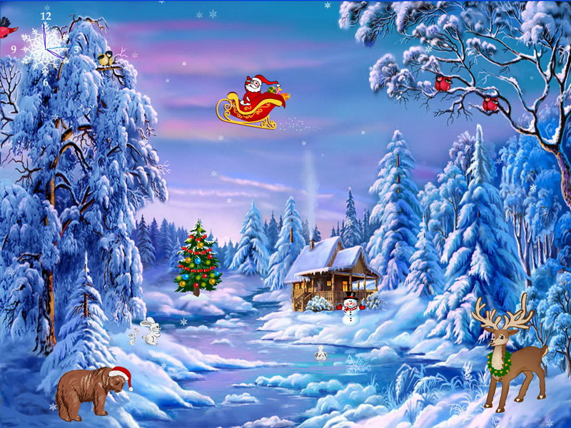 Christmas Symphony - Free Christmas Screensaver - FullScreensavers