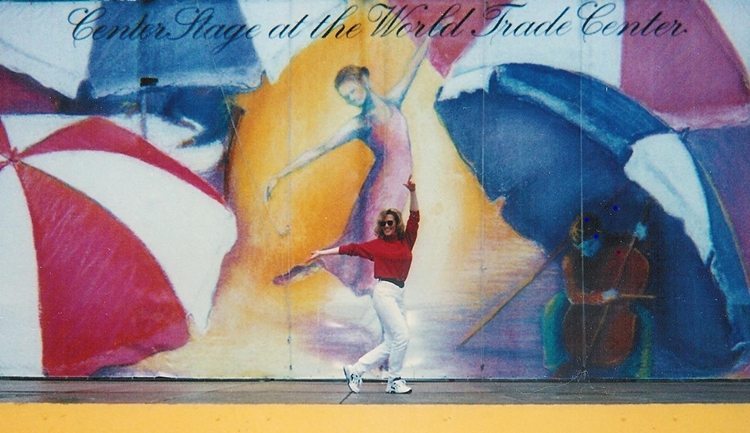 Joy Dazey - Center Stage at the World Trade Center
