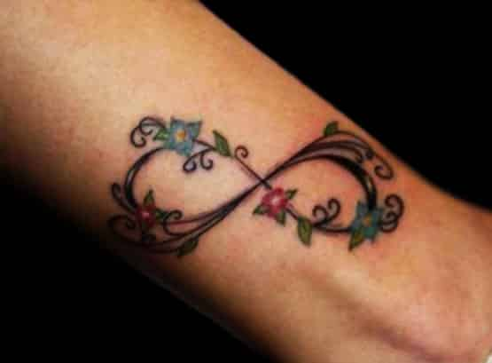 Infinity Tattoo Motive