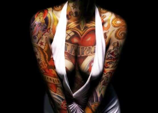 full body tattoo