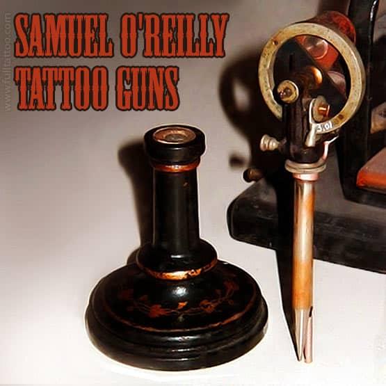 Samuel O'Reilly Tattoo Machine