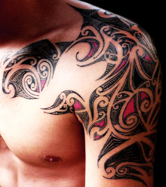 cool tribal tattoo style