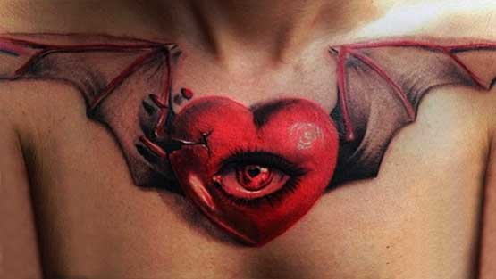 Heart Designs Tattoo Pictures
