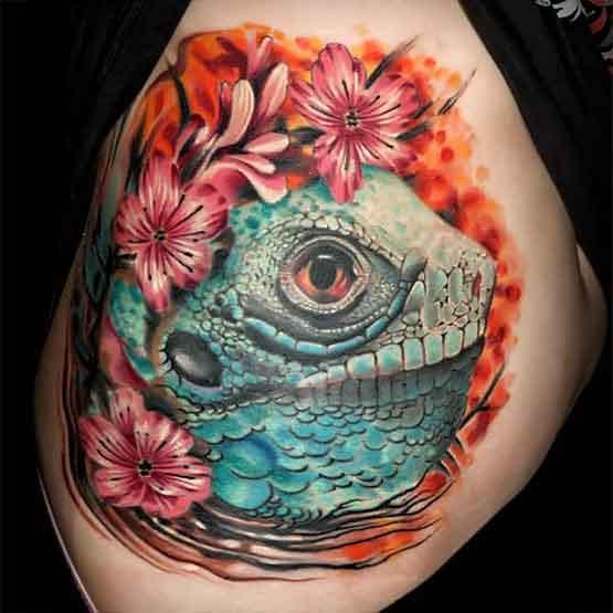 Cute Colorful Tattoo