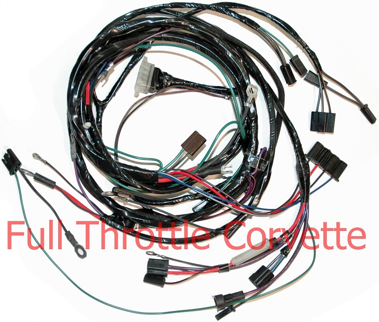 1964 - 1965 Corvette Engine Harness With AC
