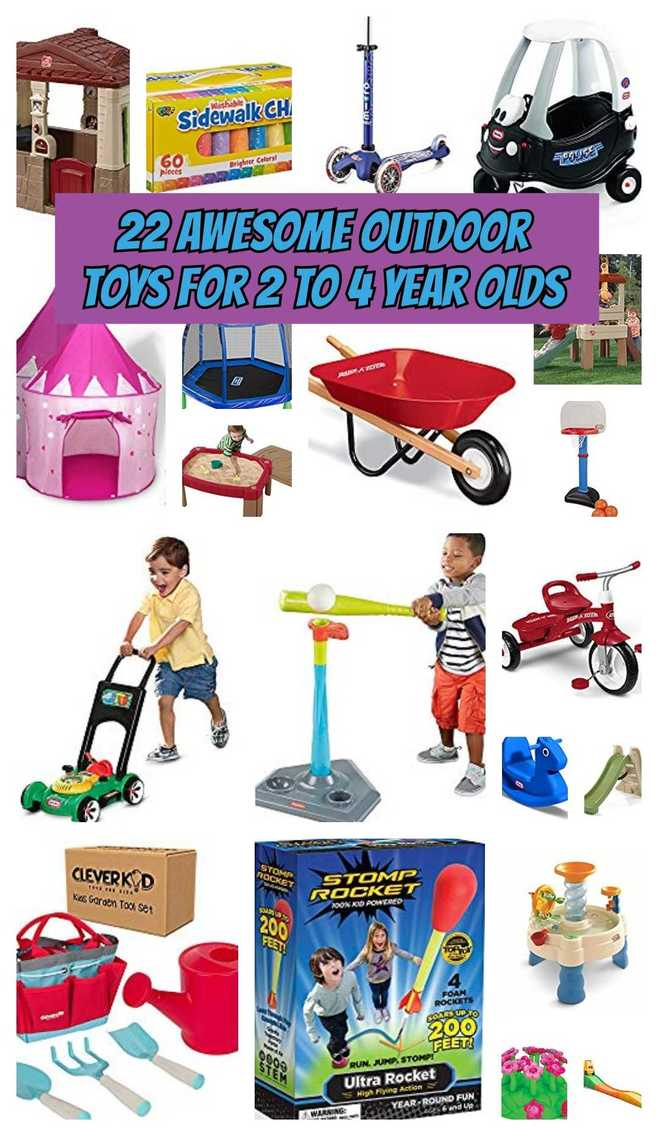 Outdoor Toys For 2 To 4 Year Olds Toys For Kids