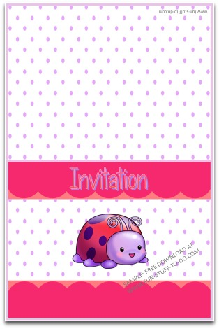 Ladybug Party Decorations Free Fun DIY Party Themes