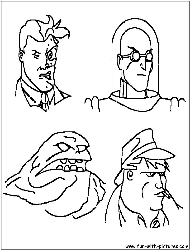 Batman Villains Coloring Pages - Eskayalitim