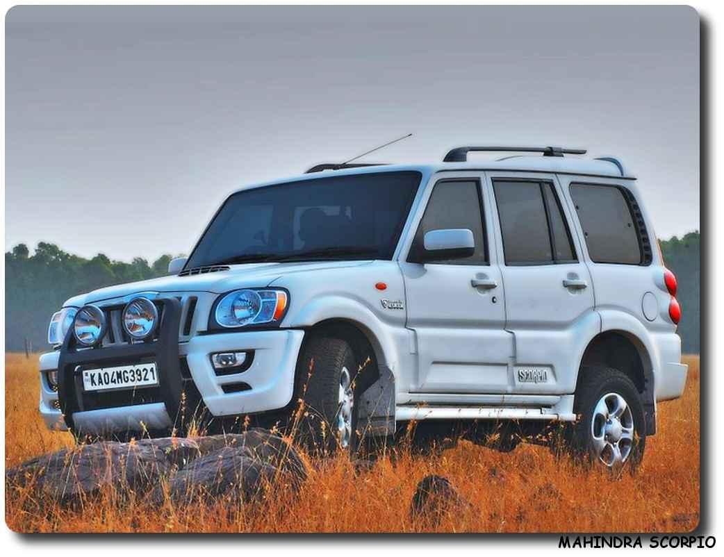 Hd Image Wallpaper Car Mahindra Scorpio Car