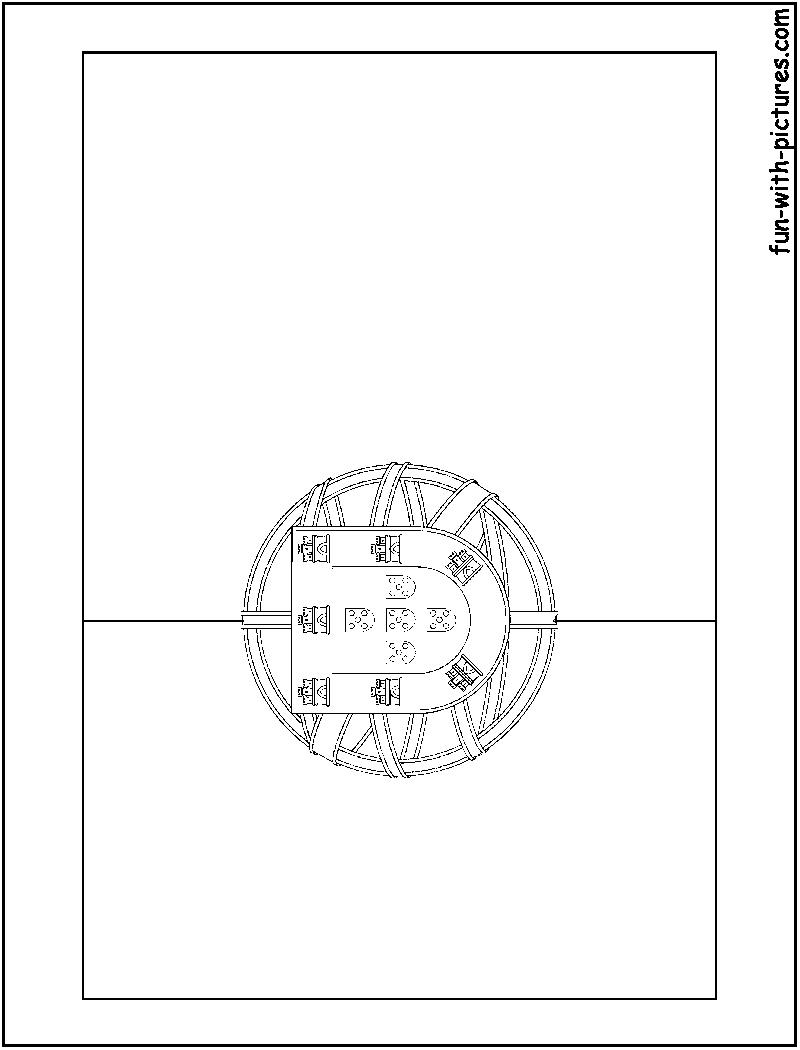 Portugal Flag Coloring Page - Eskayalitim