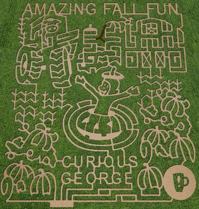 Amazing Fall Fun Indiana\u0027s Best Corn Maze FUN 1017