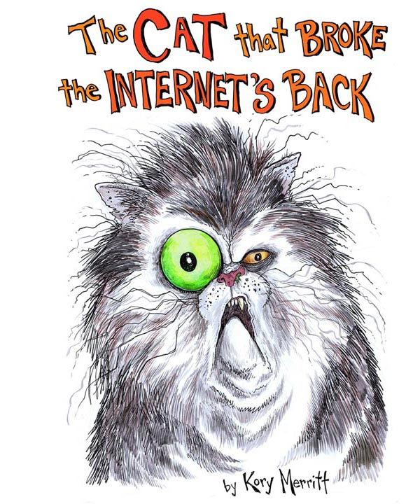 The Cat that Broke the Internet\u0027s Back - a book on Funbrain