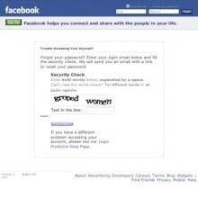 facebook captcha message 588x882 30 Crazy Captchas