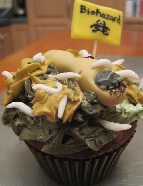 Bio Hazard Cupcake