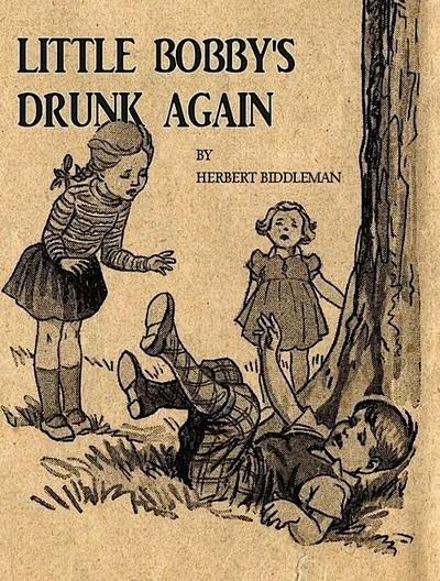 Little Bobby's drunk Again