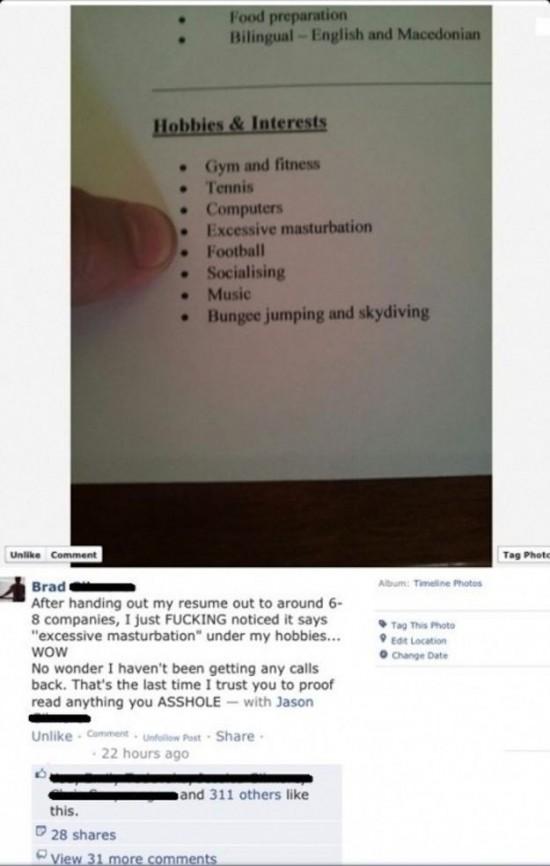 video resume application