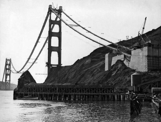 The Golden Gate Bridge Construction (9 Photos) - FunCage