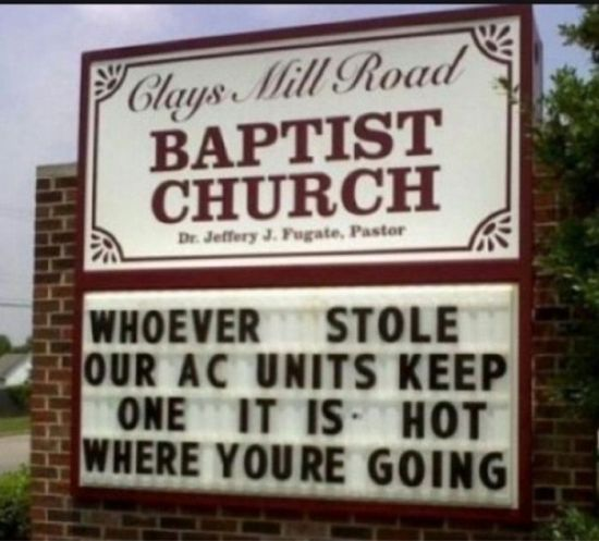 30 Church Signs Will Make You Chuckle 001