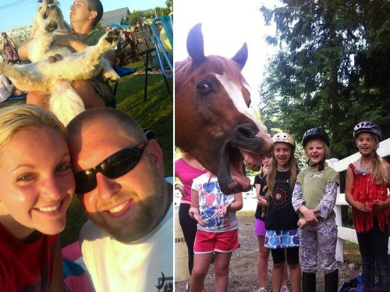 18 Animals That Are Much Better At Photobombing Than Humans 001